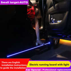 Deployable Fits Touareg 2019-2022 Running Board Side Step Nerf Bar With Light