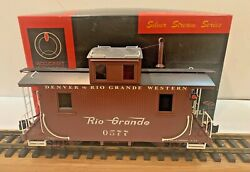 Accucraft Silver Stream Ac-124 120.3 Scale Brass Dandrgw 577 Wood Caboose
