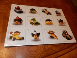 Ln Disney Angry Birds Complete Memory Card Game Matching 48 Cards {no Box}