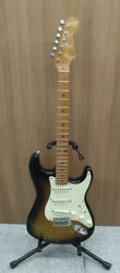 Fender E.johnson Stratocaster Ej07850 With Hard Case Safe Shipping From Japan