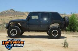 Dv8 Offroad Ht07fb42-p Hard Top Fast Back Raw 2 Piece For 07-18 Jeep 4-door Jk