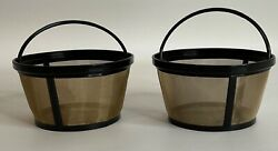 Goldtone Reusable 8-12 Cup Basket Coffee Filter For Mr. Coffee Makers, Permanent