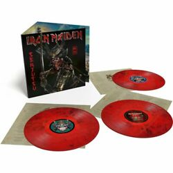 Iron Maiden - Senjutsu Exclusive Limited Red Black Marble Colored Vinyl 3 Lp