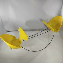 Chatty Cathy Tiny Twins Seesaw Teeter Totter Vintage 1962 Mattel Doll Toy