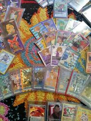 Ultra Rare Pokemon And Digimon Card Lot 100 Cards