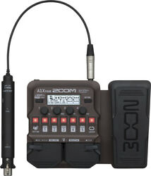 Zoom A1x Four Acoustic Multi Effector Can Be Delivered Immediately