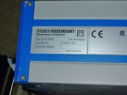 Fisher-rosemount Mlt4 Continuous Gas Analyzer
