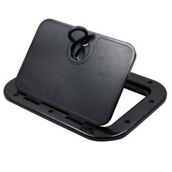 Marine Deck Plate Access Cover Pull Out Inspection Hatch W/ Latch For Boat Kayak