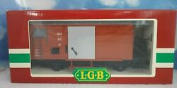 Lgb 4027 G Scale Mob Freight Wagon Car In Original Box Made In Germany