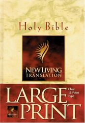 Holy Bible New Living Translation By Tyndale - Hardcover Brand New