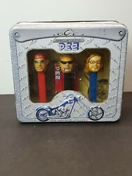 Vintage Orange County Choppers Limited Edition Pez Set- New And Sealed