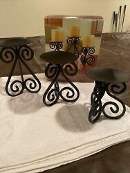 Home Trends Candle Stand Set