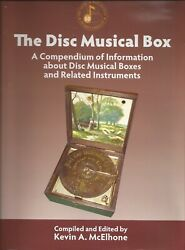 The Disc Music Musical Box Book Encyclopedia 500 Pages Polyphon Regina Kalliope