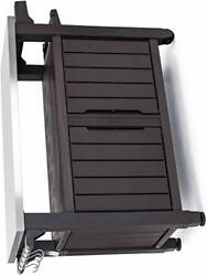 Keter Unity Xl Resin Serving Station All-weather Plastic And Metal Grill Stor...