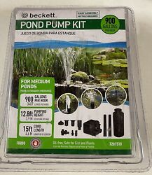 New In Box Beckett Corporation 900 Gph Submersible Pond Pump Fr800