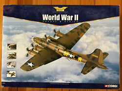 Corgi Boeing B-17f Flying Fortress Memphis Belle, 172 Scale Diecast, Aa33301