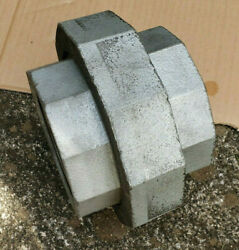 Anvil 4 Nps Class 250 Threaded Pipe Union Coupler Galvanized Malleable Iron