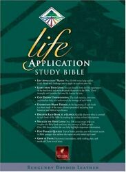 Life Application Study Bible, New Living Translation By Tyndale Brand New