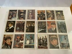 1964 Beatles Collectible Topps Color Cards Lot Of 24