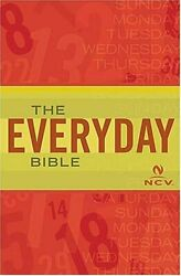 Everyday Bible For People Who Want To Know Word By Ncv Translation