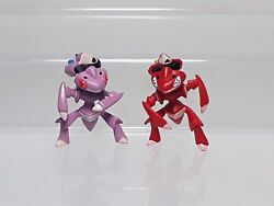 Shiny Red Genesect Pokemon Figure Tomy Takara A.r.t.s Get Collections B04 1.2in