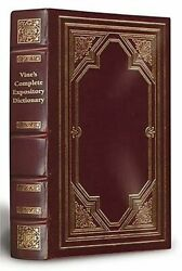 Vine's Complete Expository Dictionary Of Old And New By W. E. Vine And Merrill F.