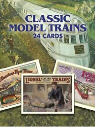 Classic Model Trains 24 Post Cards By Roger Carp Excellent Condition