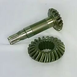 Front Crown 20tx23t + Pinion Shaft 13tx17t Fits Kubota Tractor M8540,m9540