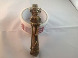 Antique Brass Lincoln Imp Nut Crackers