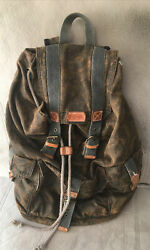 Men#x27;s Bed Stu Distressed Backpack Bag Outdoor Hiking Travel Vacation $59.00