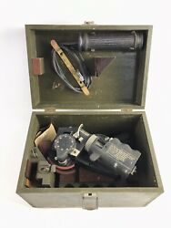 Bausch And Lomb A8-a Aircraft Bubble Sextant Air Wwii Aaf Vintage - B182