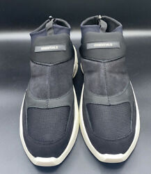 Fear Of God Essentials Laceless Sock Runner Sneakers Black Us Size 9 Eur Size 42