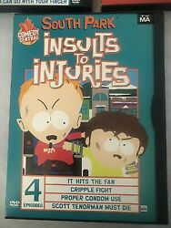 Southpark Dvd Lot Of 3 Winter Wonderland Christmas In South Park, Insults To Inj