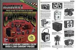 Price Guide To Antique And Classic Cameras, 1992-1993 By James Mckeown Excellent