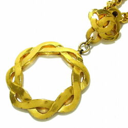 Necklace Loupe/cocomark Gold Clear Metal Material Glass