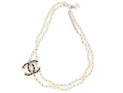 Necklace Coco Mark Long Gold-colored Metal Fittings Sj