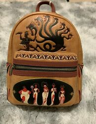 Loungefly Disney Hercules Muses Mini Backpack New With Tags