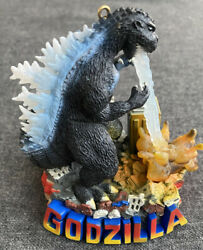 Carlton Cards Heirloom Ornament Godzilla Is Coming To Town Lights Sound 2005