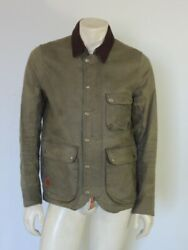 Taylor Stitch Rover Green Waxed Cotton Canvas Jacket Size 40