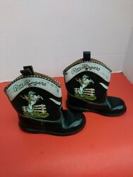 Vintage Roy Rogers And Trigger Late 40's Early 50's Child Size Cowboy Boots