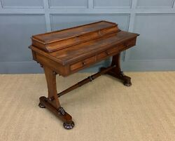 Antique Early Victorian Mahogany Side Table C.1845