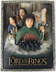 Lord Of The Rings 2005 3d Code 3 Limited Movie Poster Sculpture - Nrmint+box/oop