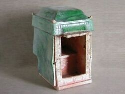Large Antique Chinese Pottery Sedan Chair - 0316