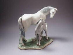 The Art Of Porcelain Andldquo First Steps On The Prairie Andldquo Figurine 6873 By Lladro R