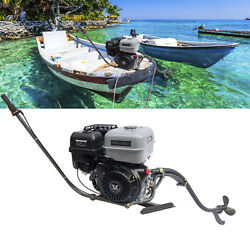 4-stroke 15hp Outboard Motor Fishing Boat Gas Fishing Engine Single-cylinder New