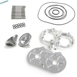 64 66mm For Pro Design Cool Head 20cc Domes O-rings Studs Kit Banshee 350 Yfz350