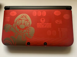 Nintendo 3ds Xl New Super Mario Bros. 2 Gold Limited Edition Console - Case