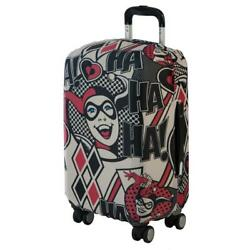 Harley Quinn Comic Travel Carry On Luggage Cover For Suitcase 18-22 Inches