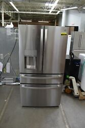 Ge Profile Pvd28bynfs 36 Stainless Steel French Door Refrigerator Nob 113394