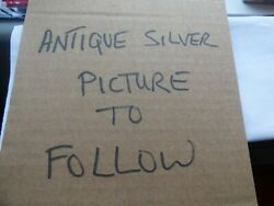 Lot 2 Solid Silver Items With Full Hallmarks 925 Silver